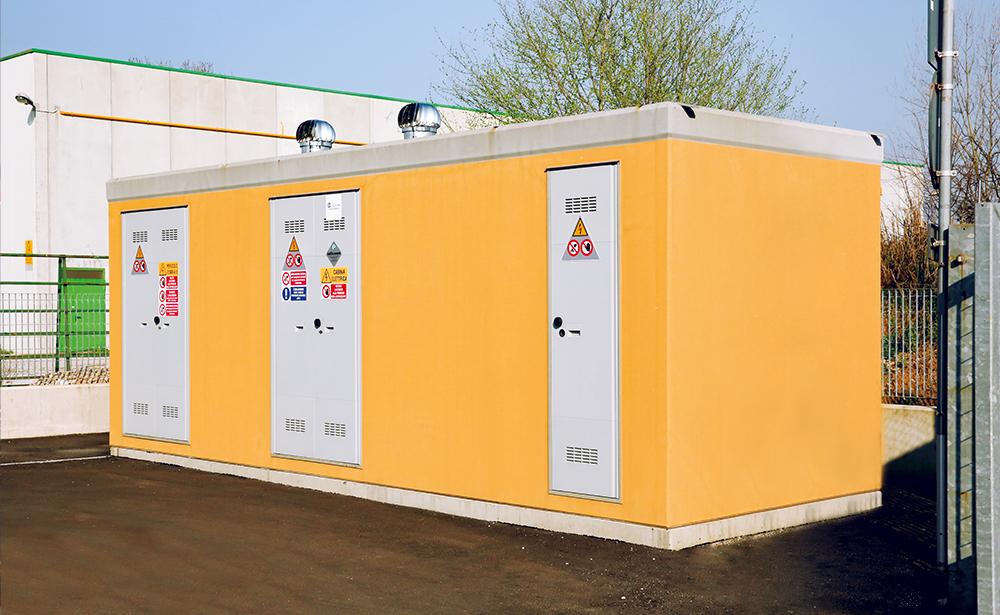 cabine elettriche ENEL DG2092